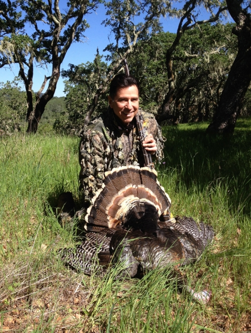My first turkey — taken in the beautiful foothills of Sonoma, California.