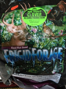 Frigid Forage, what Mike used in his clover food plots
